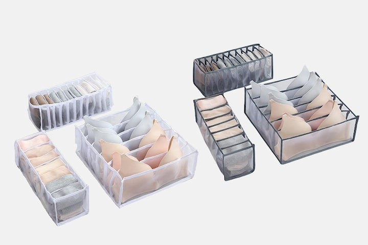 Förvaringslåda för underkläder 3-pack
