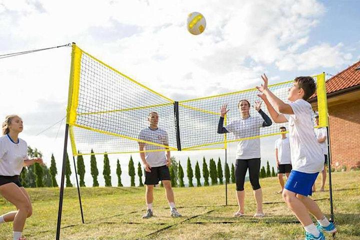 Portabelt volleybollnät