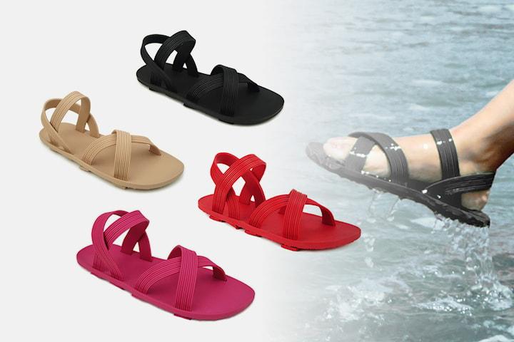 Vattentåliga sandaler