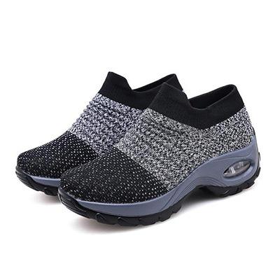 Grå, 35, Women Breathable Sport Shoes, Träningsskor, ,  (1 av 1)