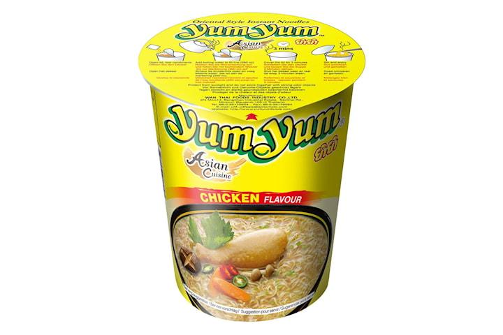 Snabbnudlar / Nudlar - Kycklingsmak, Yum Yum (12x70g)