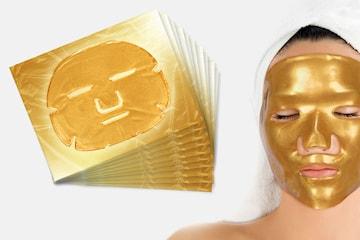 Gold Collagen ansiktsmasker