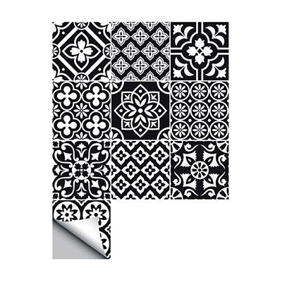 Svart/Hvit, 10-pack, 20 x 20cm, 10-pack, 20 x 20cm,  (1 av 1)