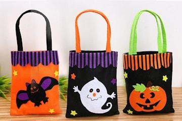 Väska med halloween-print