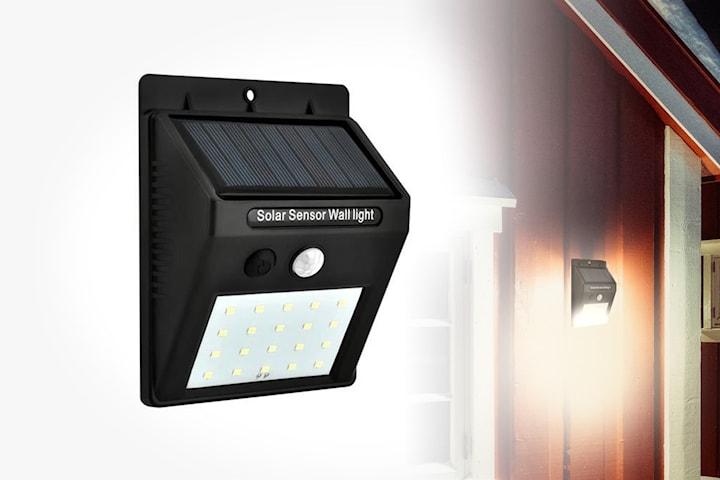 Solcellelampe 2- eller 4-pack