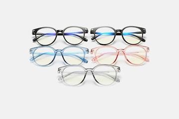 Briller med blålysfilter to eller fire par