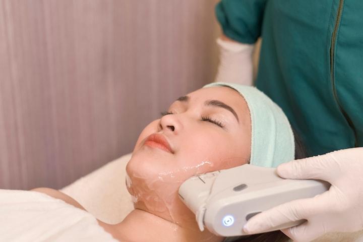 HIFU-behandling av ansikte/hals