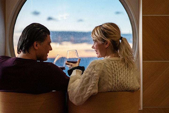 Mini-Cruise til København for 2 personer i Premium Commodore-lugar med frokost inkludert