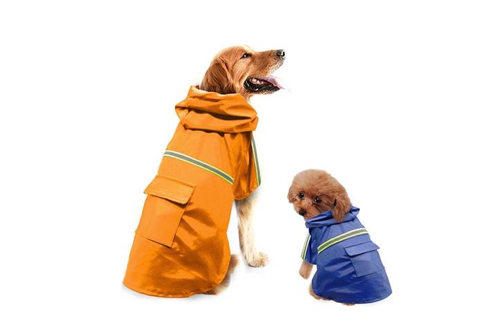 Regnfrakk for hund