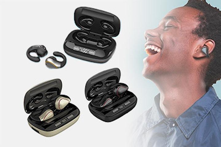 TWS trådlösa hörlurar med touch