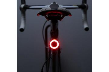 Ställbart cykellyse