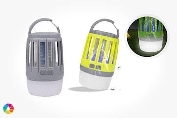 Myggfångare med kombinerad LED-lampa
