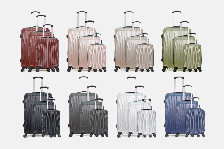 Moscou-A set med resväskor 3 storlekar (1 av 11)