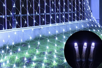 Lysnett LED-julepynt