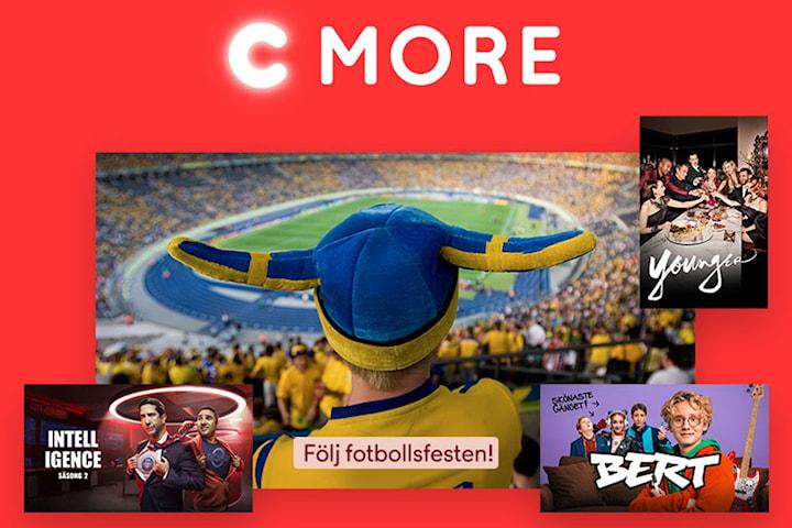 C More Plus i 3 månader för halva priset