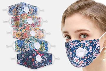 Tvättbart ansiktsskydd, 3-pack