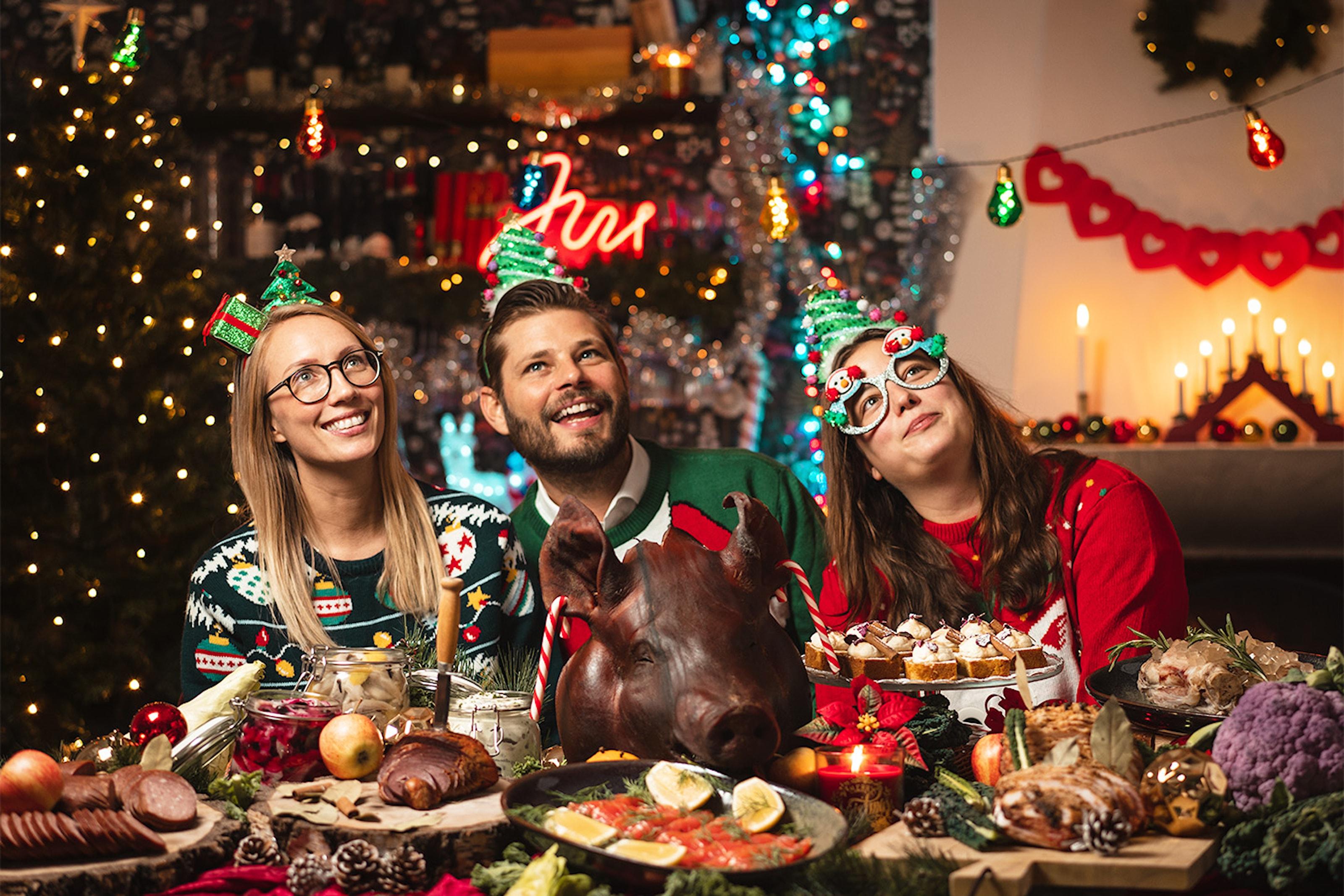 Julbord på Djurgårdsbrunn