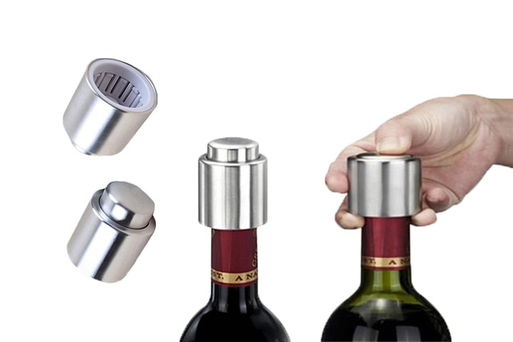 Vakuumkorker for vinflasker 3-pack