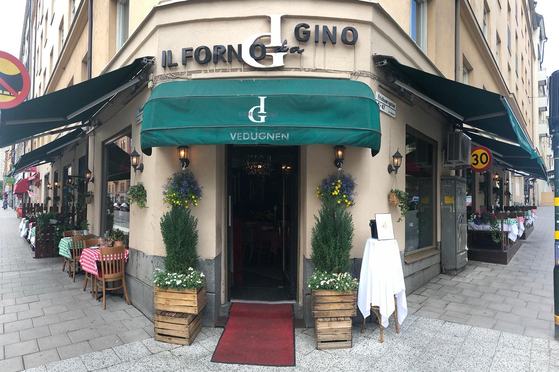Italiensk 3-rättersmiddag hos IL Forno Da Gino