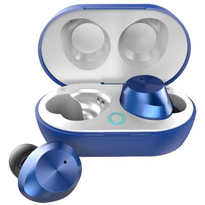Blå, Wirelss mini headset In-Ear, Trådlösa in ear-hörlurar, ,  (1 av 1)