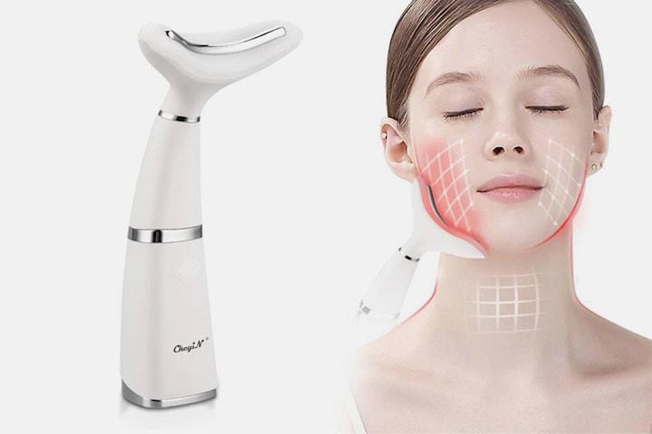 LED-värmebehandling för nacke och ansikte