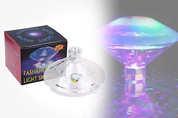 LED-lampa som flyter i vatten