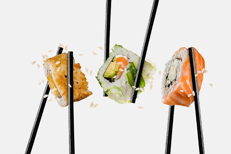9 bitar sushi hos Asienköket (1 av 1)