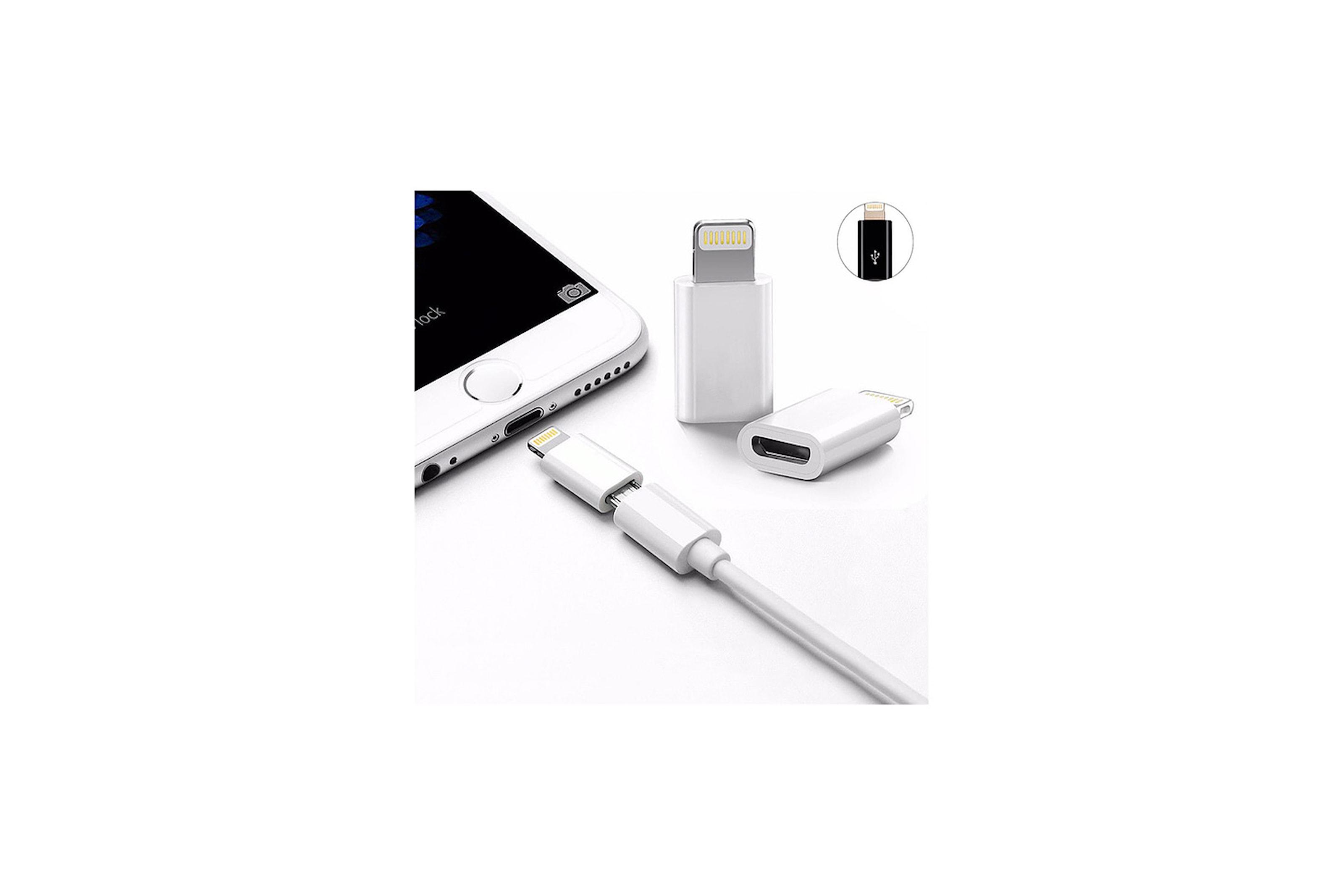 Lightning-adapter med micro-usb