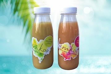 Hold deg sunn og frisk med  ingefærjuicen Jamkoo , leveres i 12-pack