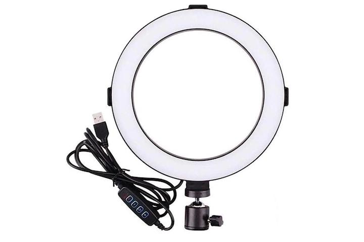 Ring light 20cm - Perfekt till videos eller sminkning