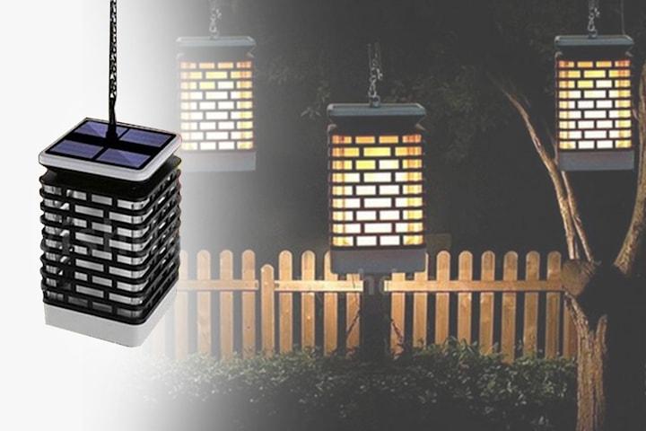 Hengende LED solcellelampe | Tilbud, rabattkoder og deals