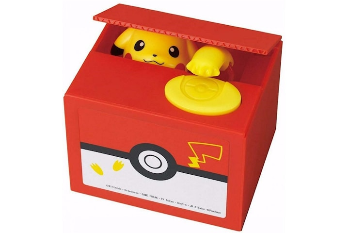 Elektronisk Pokémon Sparbössa med Pikachu