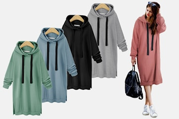 Lång hoodie