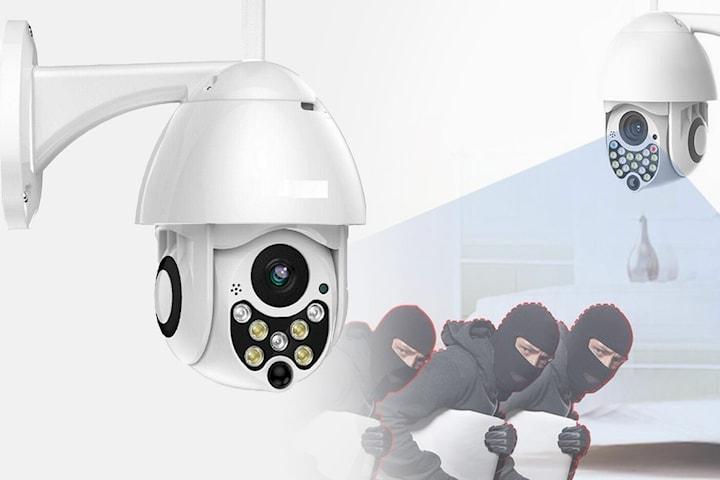 HD 1080p vattentät IP-kamera