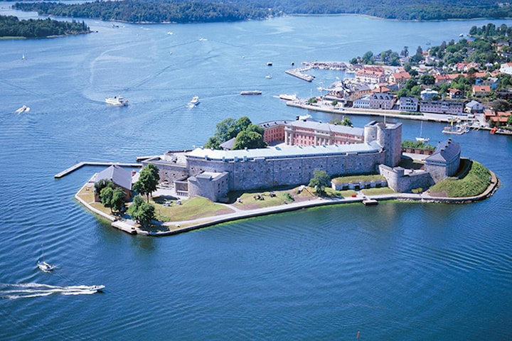 Overnatting på Kastellet Vaxholm for to personer