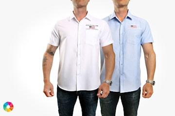 Saint Vincent Raleigh kortärmad skjorta