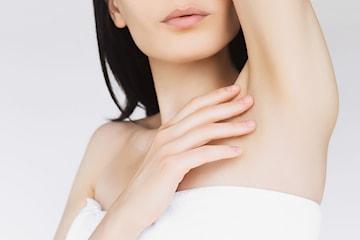 Hårborttagning med Lotus Diodlaser för armhålorna