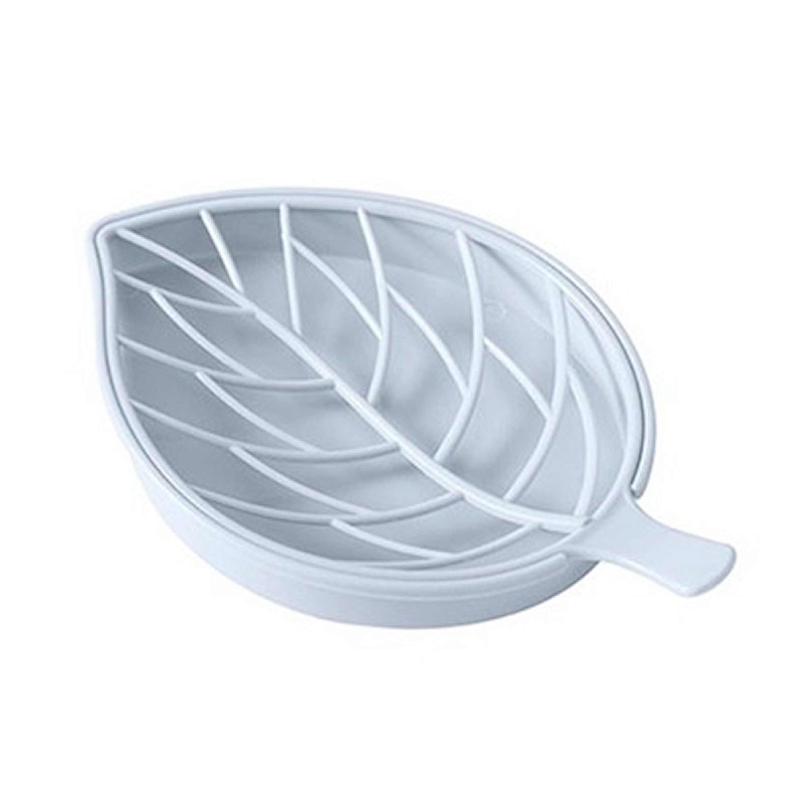 Blå, Leaf Double Layer Soap Box, Bladformat tvålfat, ,