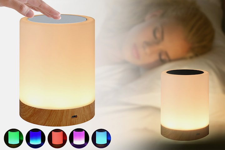 LED-lampa med touch