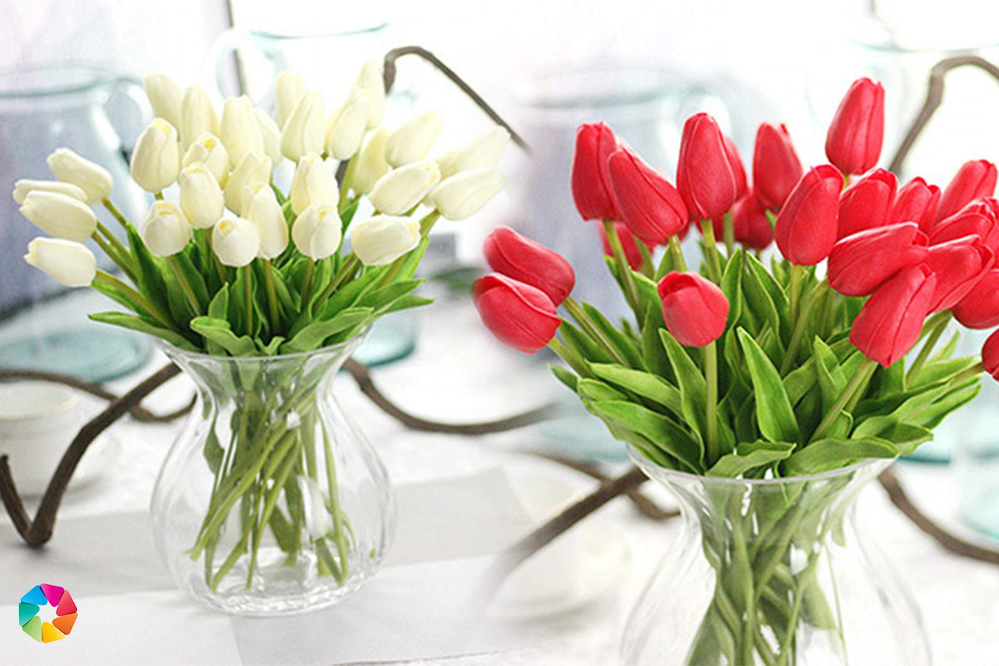 Konstgjorda tulpaner