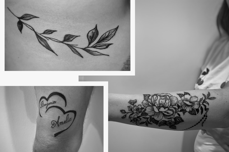 Tatuering hos Holistic Ink
