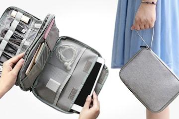 Oppbevaringsbag for gadgets og kabler