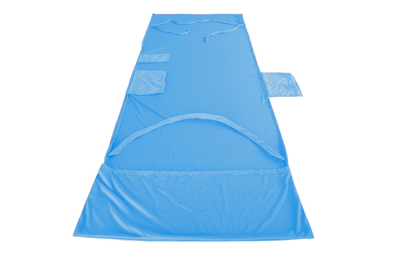 Stor handduk med fickor