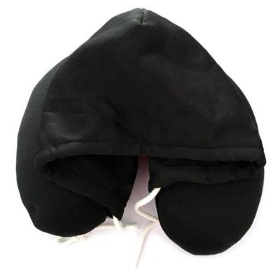 Svart, Classic Hooded Travel Pillow, , ,  (1 av 1)