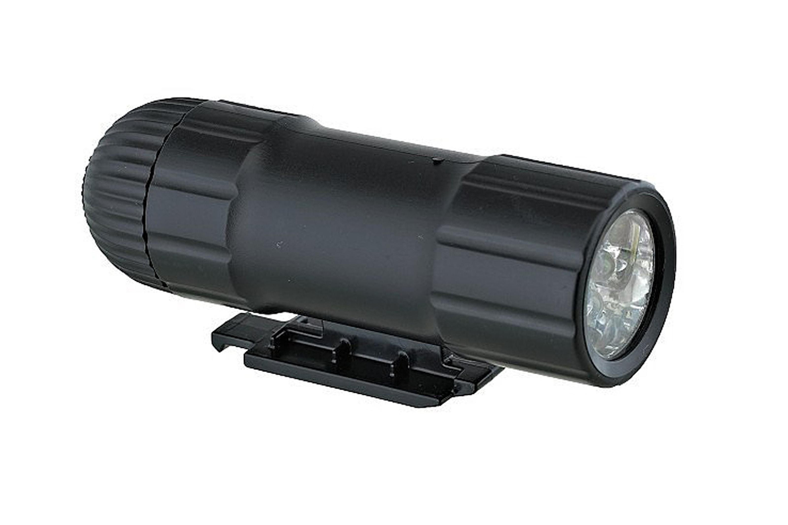 Hundkoppel med reflex och LED-ficklampa