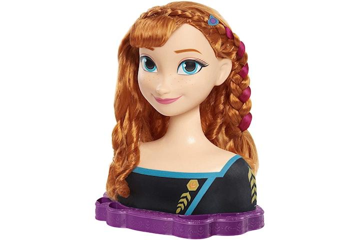 Frozen 2, Deluxe Stylinghuvud - Anna