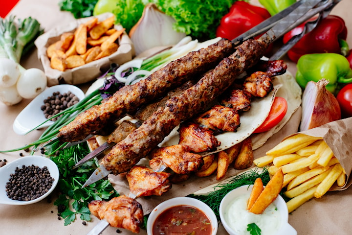 Lunch hos Nergiz kebab