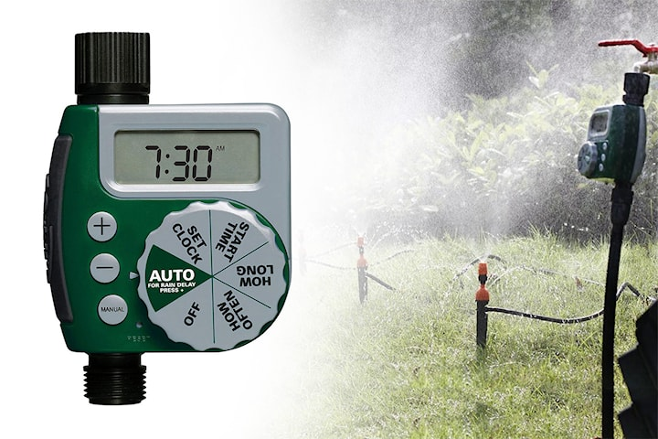 Bevattningstimer för trädgården