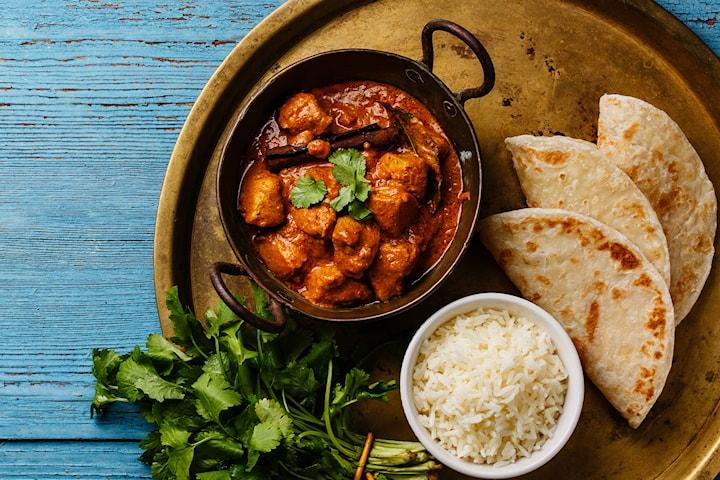 Indisk to retters hos Shalimar restaurant, for én til åtte personer