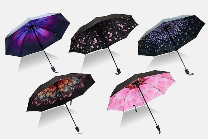Sammenleggbar paraply